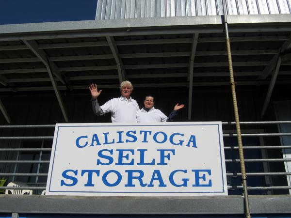Friendly and experienced help is available at Calistoga Self Storage.